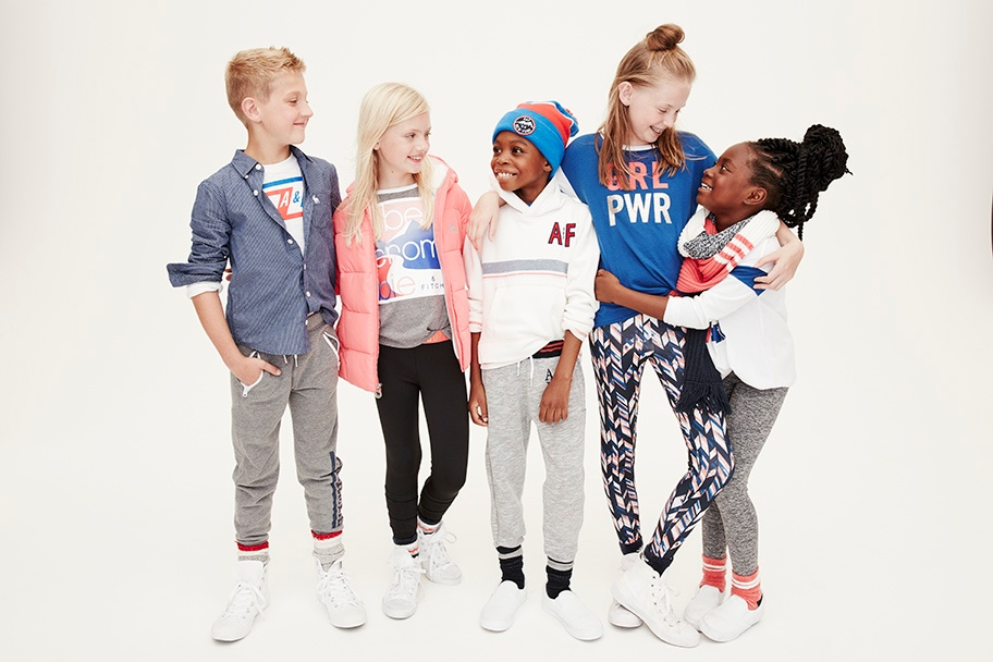 abercrombie kids gives the gift of character this holiday season